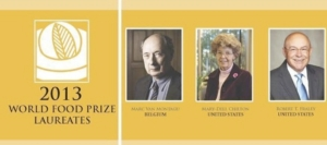 world-food-prize-2013